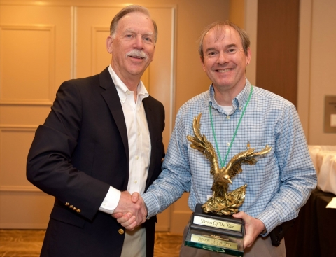 Matthew Realff receives Person of the Year Award from CARE
